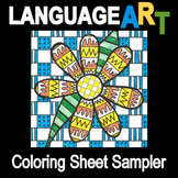 Coloring Sheets Sampler