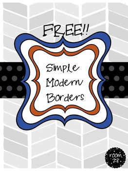 Free Commercial Use Simple Modern Borders / Frames