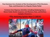 Free Common Core Activity for Plot Structure, Theme, and Tone in a Movie Trailer