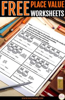 Place Value Worksheets :Place Value Ones And Tens-Freebie