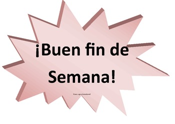 Free Common Spanish Sayings-Posters for the Room