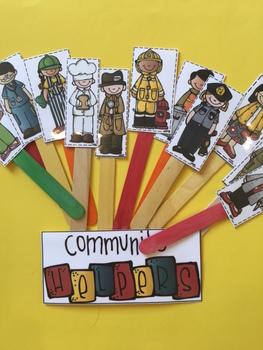 Free Community Helpers Sentences