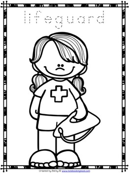 preschool community helpers coloring pages-#23