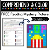 Free Comprehend & Color - Literacy Mystery Picture