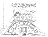 Conquer Bullying Coloring Sheet