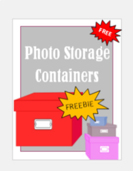 Containers, Photoboxes, Images, Clipart