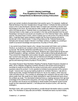 Free Content Area Comprehension Supplement for Teachers in K-8th