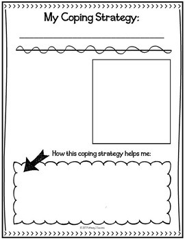 Coping Strategies Notebook Free Sample Activity - Distance Learning