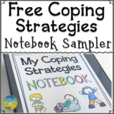 Coping Strategies Notebook Free Sample Activity - Distance