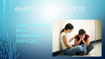 Free Coping Strategies Powerpoint! With Video Anticipatory Set