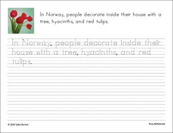 Free Copywork Handwriting Sampler - Thematic Unit Plan Extensions