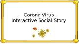 Free Corona Virus Interactive Social Story and Questions