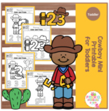 Free Cowboy Mini Printable for Toddlers