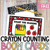Free Crayon Counting Boom Deck Distance Learning