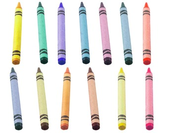 Crayons Real Photo Clipart