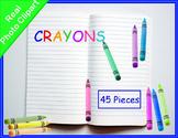 Crayons Real Photo Clipart