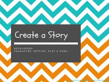 """Free """"Create a Story"""" Presentation for Middle School"""