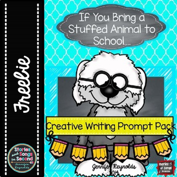 Free Creative Writing Booklet for the Primary Grades--My S