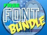 Free Custom Font Bundle