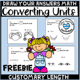 Free Customary Length Convert Units of Measurement Worksheet Spring 5th