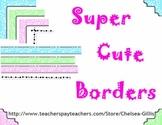 Free Cute Borders