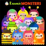 Free Cute Kawaii Monster ClipArt