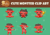 Free Cute Monster Clipart
