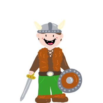 Free Cute Viking Clip Art