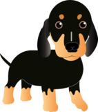 Free Dog Dachshund Puppy Clip Art