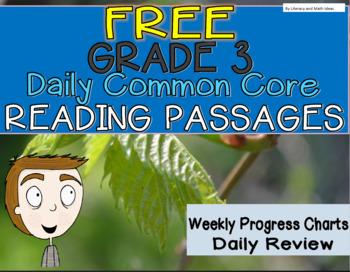 **Free Daily Common Core Reading**Grade 3