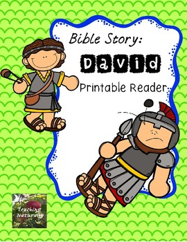 Free David and Goliath Printable Reader