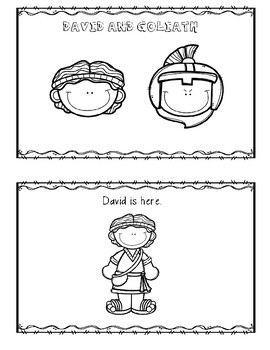 graphic about David and Goliath Printable Story named Cost-free David and Goliath Printable Reader