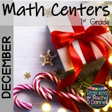 Free December Christmas Math Centers Kindergarten