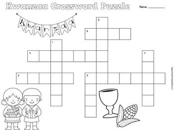 Crossword Puzzles - December