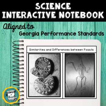 Free Demo Science Interactive Notebook/Lapbook - Georgia Performance Standards