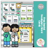 Free Dental Vocabulary Cards and Sequencing Cards