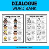 Dialogue Words Writing Anchor Chart