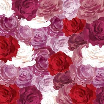 Free Digital Background Paper - Valentine's Blush