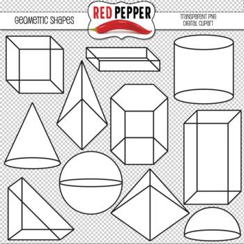 Free Digital Clipart - Geometric Shapes