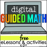 Free Digital Guided Math for Distance Learning