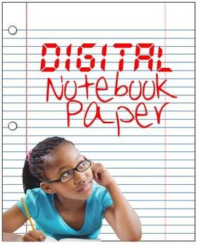 Free Digital Notebook Paper