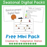 Free Digital Pack for Special Education-Distance Learning