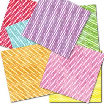 Free Digital Paper - Bright and Fun
