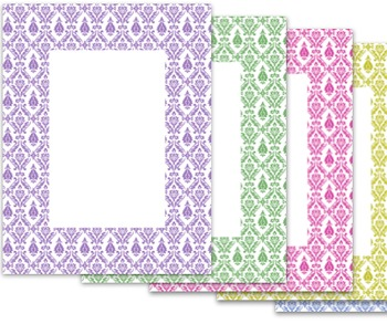 Free Digital Papers - Backgrounds and Borders