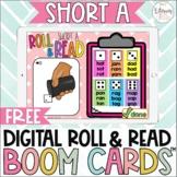 Free Digital Roll and Read | Short A CVC Boom Cards™