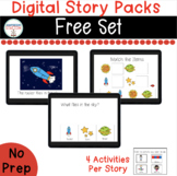 Free Digital Story Pack for Special Education  (Boom Learn