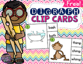 Digraph Clip Cards (Free)