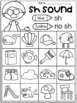 Free Digraph Worksheets - ch, th, sh