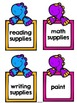 Free Dinosaur Labels for the Classroom