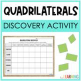 {Free} Discover Quadrilaterals Activity